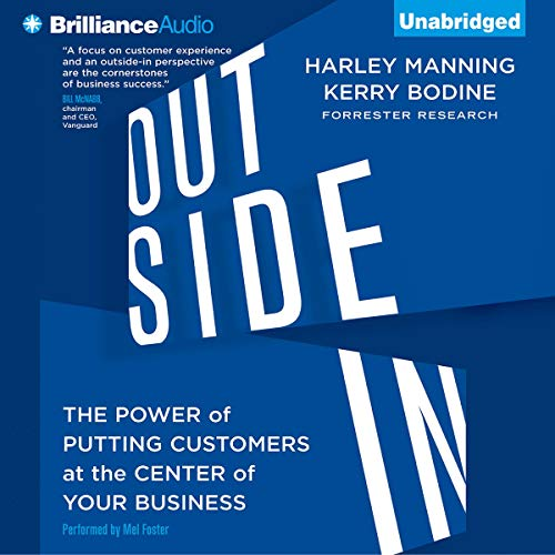 Outside In Audiobook By Harley Manning, Kerry Bodine cover art