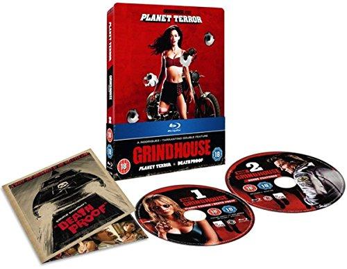 Le Blu-ray importé de Grindhouse (Death Proof & Planet Terror)