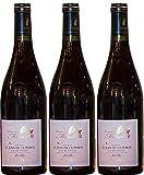 Vin de Récoltant Savoie rouge Mondeuse, 2018 AOP, 3 bouteilles de 75cl.
