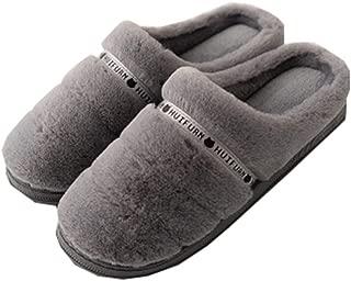 [QIFENGDIANZI] ルームシューズ スリッパ レディース メンズ シンプル おしゃれ もこもこ おしゃれ 洗える あったか 滑り止め 男女兼用 春秋冬 防寒 抗菌 防音 脱ぎ履きやすい 冷え対策 北欧 冬小物 室内履き 来客用