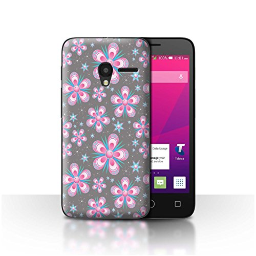 STUFF4Phone Case/Cover/Skin/alcpix45/Pink Fashion Collection Fleurs Bleues