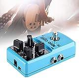 Mini Efecto Peda Guitarl 8 Efectos De 32 bits De Metal Procesador De Señal Digital con True Bypass