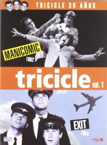 Pack tricicle i:manicomic [DVD]
