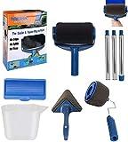 Paint Roller Pro Farbroller mit Tank, Werkzeug für Ecken, Pinsel; 5 Sets Maler-Set für Haus und Garten