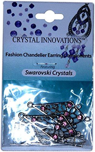 Swarovski Crystal Innovation Pink Kite Crystal Chandelier Earring Kit