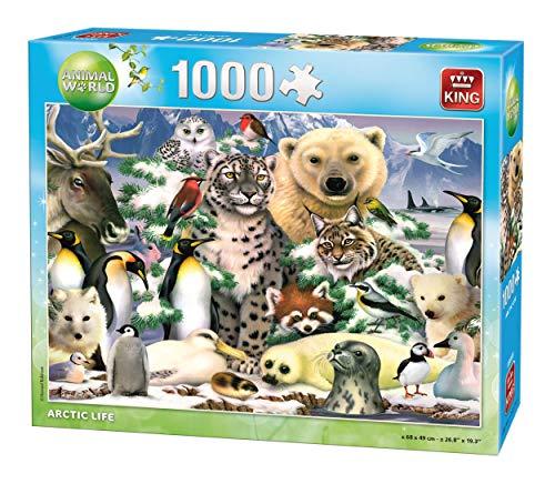 King 5485 Artic Jigsaw Puzzle 1000-Piece, 49 x 68 cm