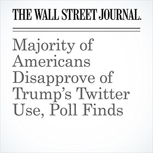 Majority of Americans Disapprove of Trump's Twitter Use, Poll Finds copertina