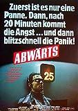 Abwärts - Götz George - Wolfgang Kieling - Filmposter A3