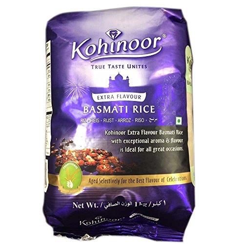 バスマティライス インド産 Kohinoor 20kg 【1kg×20袋】 Basmati Rice 長粒米 インディカ米 香り米 業務用