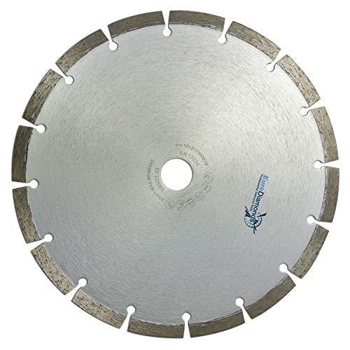 Profi Diamant-Trennscheibe Beton Expert von EDW, 230 x 22,2 mm x 10 mm, schnittfreudige Laser Universal Trennscheibe, für Beton, Mauerwerk, Granit, Pflastersteinen und allen weiteren Gesteinsarten