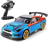 Control remoto 4WD Coche 1:10 2.4 g 70km / h Carreras de carreras Coche de alta velocidad Drift RC...
