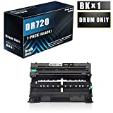 1 Pack Compatible DR-720/DR720 Drum Unit (Toner Not Included) Replacement for Brother MFC-8710DW 8910DW HL-5440D 5470DW/DWT DCP-8110DN 8155DN 8510DN Printers
