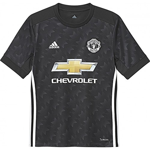 adidas Manchester United FC Away Youth Jersey [Black] (M)