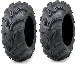 Pair of Maxxis Zilla ATV Mud Tires 28x10-12 (2)