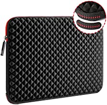 WIWU 17.3 Inch Diamond Laptop Sleeve Case Cover with Super Corner Protection Water Repellent Computer Bag for MacBook Pro Air Dell Inspiron MSI HP Pavilion Lenovo ideapad Acer HP Omen