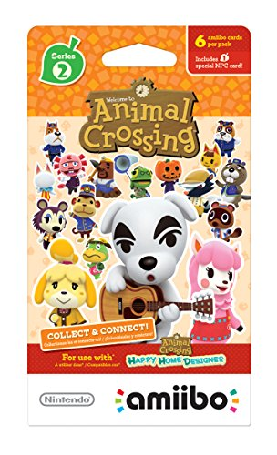 Nintendo Animal Crossing amiibo Cards Series 2 - 6pk