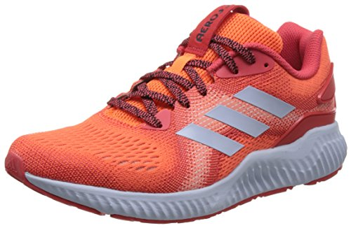 adidas Aerobounce St W, Zapatillas de Running para Mujer, Naranja (Hi-Res Orange/Real Coral/Aero Blue 0), 38 EU