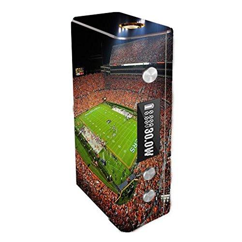 Cloupor Cana Mini 30W Vape E-Cig Mod Box Vinyl DECAL STICKER Skin Wrap / College Football Stadiums