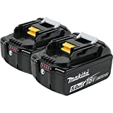 Makita BL1850B-2 18V LXT Lithium-Ion 5.0Ah Battery Twin Pack (Renewed)