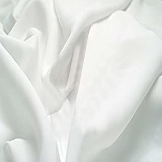 CRAFTY CUTS 2-Yards Cotton Fabric, White Solid (22164-G55583)