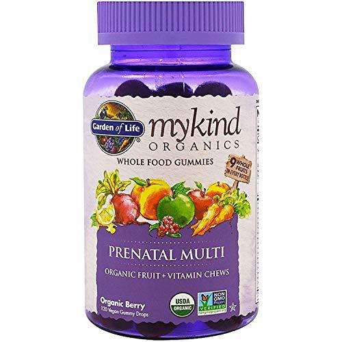 Mykind Organics Prenatal Multivitamins Minerals Fruit Vitamin Chew...