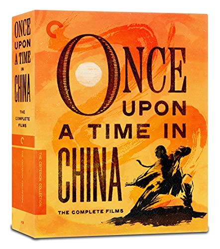 Once Upon a Time in China: The Complete Films (The Criterion Collection) [Blu-ray]
