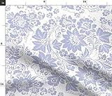 Violett, Blau Und Weiß, Schwedisch Stoffe - Individuell