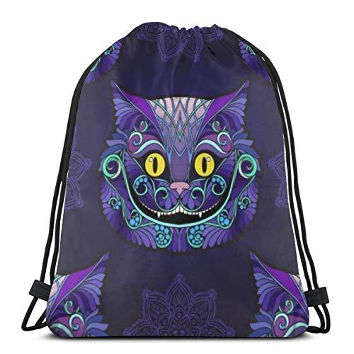 Cabeza de gato de Cheshire del cuento de hadas Alicia en el...