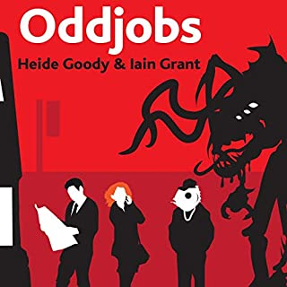 Oddjobs audiobook cover art