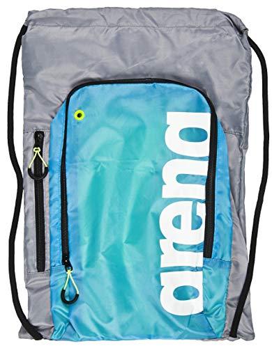 ARENA Unisex-Erwachsene Fast Sack Rucksack, Schwarz (Black/Fluo), 36x24x45 Centimeters