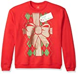 Hanes Men's Ugly Christmas Sweatshirt, Best Red/Gift to...