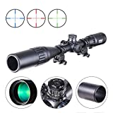 Best Airgun Scopes - Pinty Rifle Scope AO Red Green Blue Illuminated Review