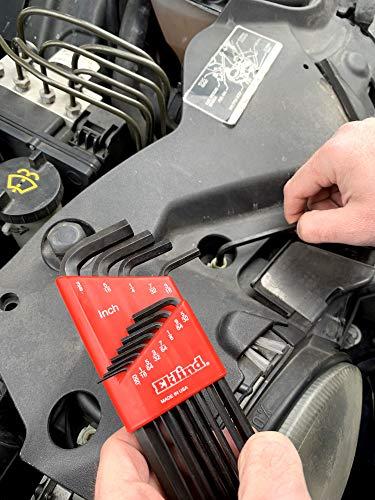 EKLIND 10213 Hex-L Key allen wrench - 13pc set SAE Inch Sizes .050-3/8 Long series