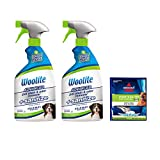 Woolite Advanced Pet Stain & Odor Remover + Sanitize, 2618, 22oz (Pack of 2)