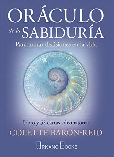 Oráculo de la sabiduría. Para tomar decisiones en la vida. Libro y 52 cartas adivinatorias