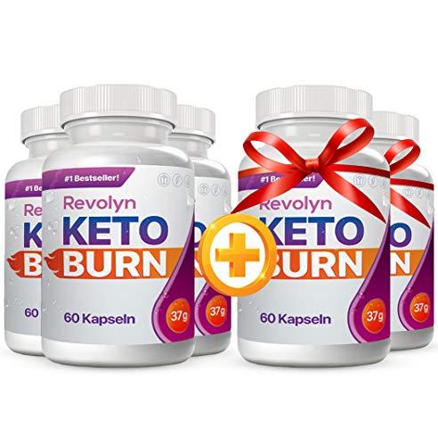 Revolyn Keto Burn - Pillola per Dimagrire in Modo Efficace | 3 flaconi al prezzo di 2 (3 Flaconi)