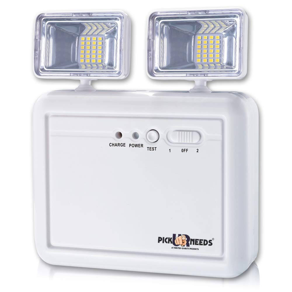 Pick Ur Needs® Auto Cut System LED Wall Mounted with Portable & Twin Spot for Commercial Emergency Lightning (10000 Lumens)(Medium)