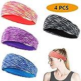 EPCHOO Elastische Sport Stirnbänder Pack