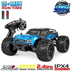🎄【36km/h Amazingly Fast】 --- 1:16 scale large size rc cars for adults,the rc cars max speed can reach up to 36km/h, which is racing faster compared with other brands. full proportional super-fast RC monster truck are special designed for tough enviro...