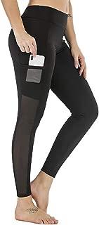 High Waist Yoga Shorts Running Compression Sports Leggings Biker Athletic Spandex Tights with Pocket