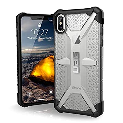 "URBAN ARMOR GEAR UAG iPhone Xs Max [6.5"" Screen] Plasma Feather-Light Rugged [Ice] Military Drop Tested iPhone Case"