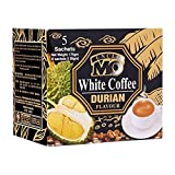 Uncle Mo White Coffee - Durian (5s x 35g) 175g - First class coffee blended with non-creamer to create strong continental style aroma and flavour.