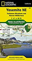 National Geographic Trails Illustrated Map Yosemite Ne, Tuolumne Meadows & Hoover Wilderness California, USA