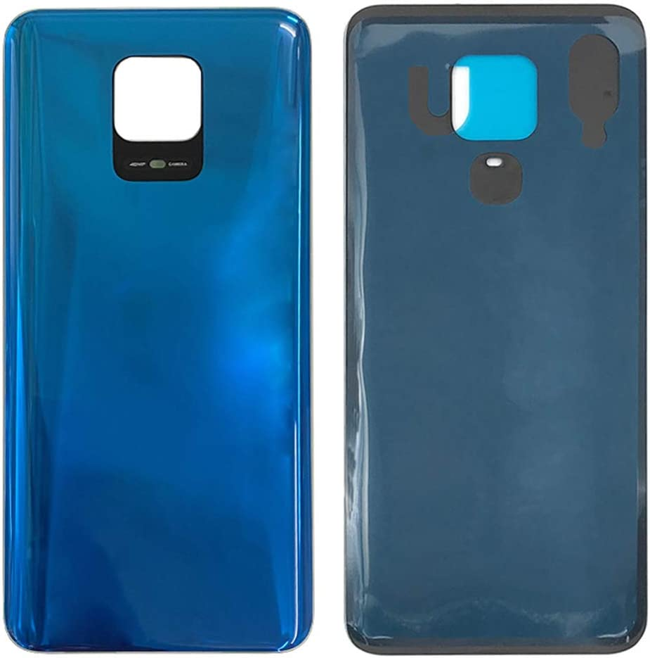 Back Battery Cover Rear Door Housing Case Replacement for Xiaomi Redmi Note 9S M2003J6A1G 6.67