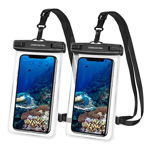 avis smartphone le professionnel Étui étanche pour smartphone UNBREAK Cable [ Lot de 2] Coque étanche IPX8 pour téléphone portable pour iPhone 11,…