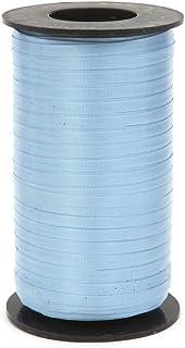 Berwick 242065 1 03 Splendorette Crimped Curling Ribbon, 3/16-Inch Wide by 500-Yard Spool, Light Blue