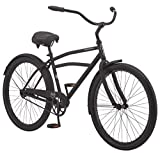 "Schwinn Huron Men's Cruiser Bike, Single Speed, 26"" Wheels, Black"