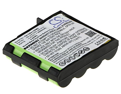 CS-CMA150MD Batería 2000mAh Compatible con [COMPEX] Edge US, Enegry, Enegry Mi-Ready, Energy, Energy Mi-Ready, FIT, Fit 1.0, Fit 3.0, Mi, MI-Fitness, Mi-Sport, mi-Theta 600, Performance E Mi-Ready, P