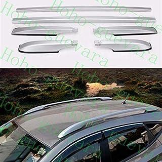 FidgetKute 1 Juego de Barras Laterales para portaequipajes para Mazda CX-5 CX5 2012-