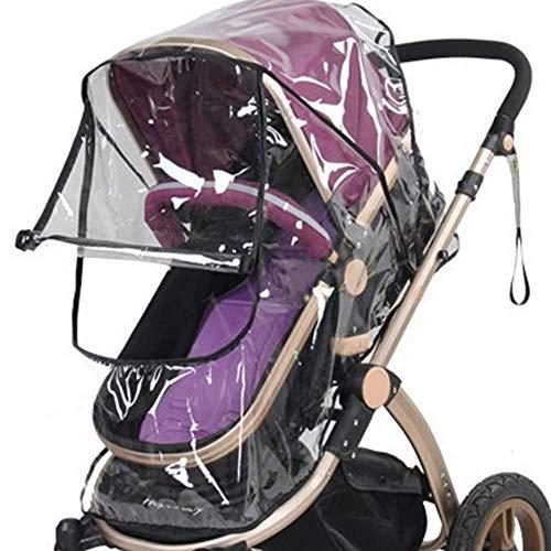 Funda impermeable universal para cochecito de bebé, protección contra el viento, protección contra el polvo, protección contra la lluvia, costosa y duradera